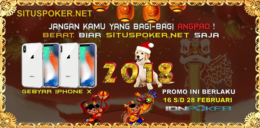 Situs Poker Online Bagi Bagi Angpao 2018